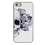 Skull with Rose Decorated Ear Pattern PC Hard... – USD $ 2.99