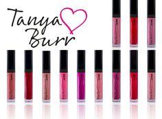 Tanya Burr Lips and Nails. I love the logo that she's chosen 💖 Pretty Makeup, Love Makeup, Makeup Inspo, Tanya Burr Makeup, Sand Nails, Duvet Day, Long Lasting Nail Polish, Makeup Items, Makeup Stuff