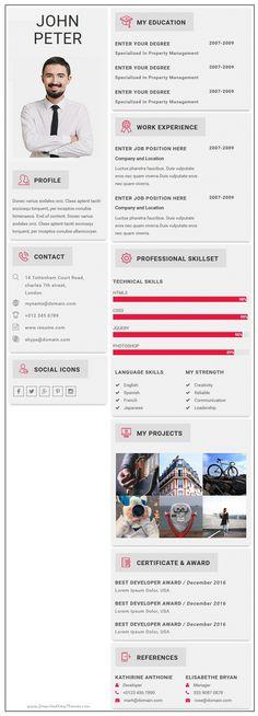 Mun Cut Personal Portfolio HTML Template Template for resume - resume html template