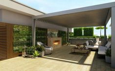 Terrace Covering - Freestanding or Attachment?