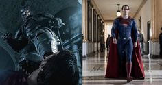 'Batman v Superman' Big Fight Spoiler & New Photos Revealed -- Director Zack Snyder explains how Bruce Wayne is capable of engaging Kal-El in a fair fight in 'Dawn of Justice'. -- http://movieweb.com/batman-v-superman-fight-spoiler-photos/