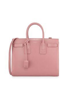 Yves Saint Laurent Sac de Jour Small Carryall Bag, Pink, Size: S