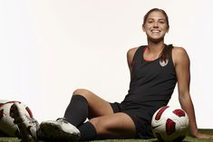 One day I will be like Alex Morgan, youngest player on the us womens team