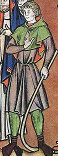 Morgan Library ms m.638 (Maciejowski Bible) Paris 1244-1254AD Fol 32r. David obtains Goliath's sword, bystander holding shepherds crook Fol 27r. The shepherd, David Fol. 25r. The shepherd, David