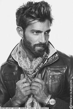 Maximiliano Patane, messy classic mens hair, eurotrash fashion, eurotrashion, texture
