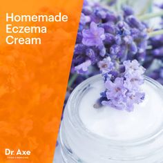Make Your Own Eczema Cream  INGREDIENTS: ½ cup raw shea butter ½ cup coconut oil (optional: ¼ cup olive oil or almond oil) 1 tablespoon local honey 30 drops of lavender essential oil 8 drops of tea tree essential oil