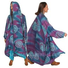 Okay these are hot of the Sunheart design boards! Stunning one-of-a-kind full length kimono Heroine dusters with generous yardage. These are knock out pieces that will take your SunHeart boho wardrobe to the next level. Be the Heroine of your own story, dress like you mean it, why wait? The time is now.