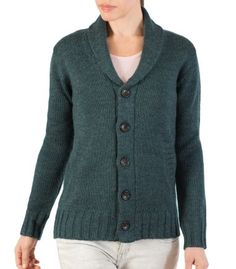 Men's & Women's Shawl Collar Cardigan | Wool Overs USA
