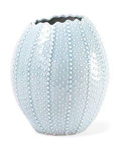 Sea Urchin Ceramic Vase