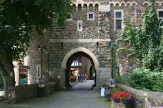 Moat Gate, Burg Castle, Solingen, Germany