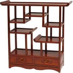 <li>Add a touch of old world charm to your decor with this Oriental Netsuke display stand</li><li>Standing 20 inches tall, this furniture is modeled after a Ming dynasty display stands</li><li>Stand is handcrafted by artisans in China</li>