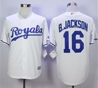 Kansas City Royals #16 Bo Jackson New White Cool Base Stitched MLB Jersey