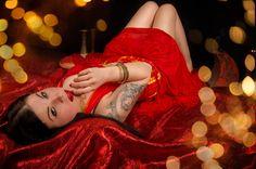 1001 Nacht mit Model Christine Meunier