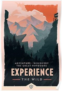 Firewatch Flyer Poster Poster