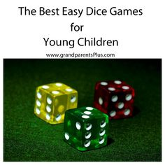 With a couple of dice, you have lots of fun options. Great for those times when you're waiting for an appointment ,on a trip or long car ride.