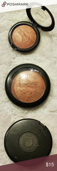 MAC Cheeky Bronze Mineralize Skinfinish Usage as shown in photos MAC Cosmetics Makeup Bronzer