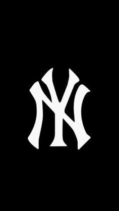 new york yankees logo by nike team logos pinterest logos ny rh pinterest com Yankees HD Wallpaper Yankees iPhone Wallpaper