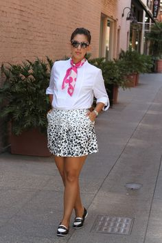 Rocks Fashion Bug: The Classic Loafers  Loafers Outfit, Black and White