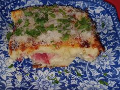 Lulu - Povesti din Bucatarie: Conopida la cuptor Mozzarella, Lasagna, Quiche, Bacon, Breakfast, Ethnic Recipes, Food, Morning Coffee, Essen
