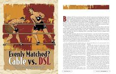 Editorial Design by Derek Davalos, via Behance