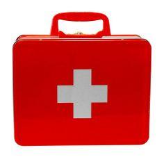 Caixa de Medicamentos Vermelha | Boutique de Luxo @ BoutiqueDeLuxo