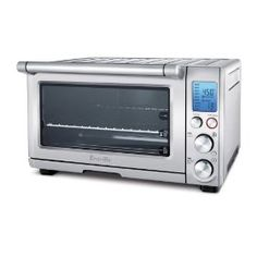 Breville BOV800XL 1800-watt toaster oven. I love a good toaster oven, and I'd this one. They're fun to use; and in my opinion, produce better-cooked and better-tasting food than microwave ovens. http://www.amazon.com/Breville-BOV800XL-1800-Watt-Convection-Toaster/dp/B001L5TVGW/ref=pd_zg_rss_ts_k_289937_2?ie=UTF8=squidmaartjetoasterowens-20