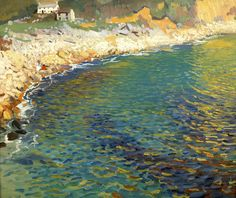 Dame Laura Knight, Lamorna Cove