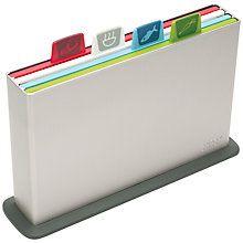 Buy Joseph Joseph Index Advance Chopping Board Set, Large Online at johnlewis.com