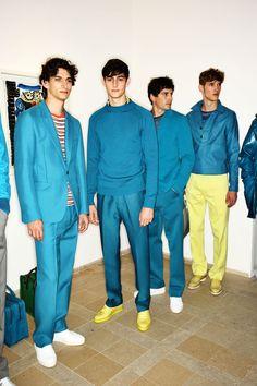 Backstage at BERLUTI SS16 Men Fashion Show Paris... - SO-Flâneuse