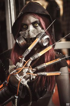 Scarecrow cosplay by Florencia B