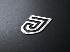 Mark* Julien Mark by George BokhuaJulien Mark by George Bokhua Typography Logo, Logo Branding, Branding Design, Lettering, Initials Logo, Monogram Logo, Creative Logo, Logo Inspiration, Logo 3d