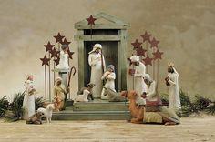 Willow Nativity Sets On Sale | Willow Tree Krippe Komplett Set - bei Begus kaufen