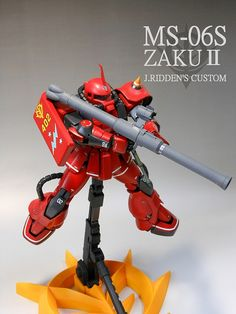 MG 1/100 Zaku II Ver. 2.0 Johnny Ridden Custom Painted Build | Gundam Kits Collection News and Reviews