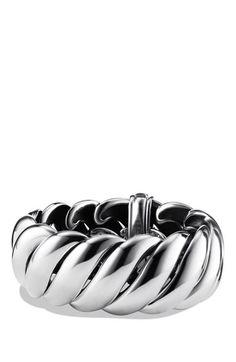 David Yurman cable bracelet.