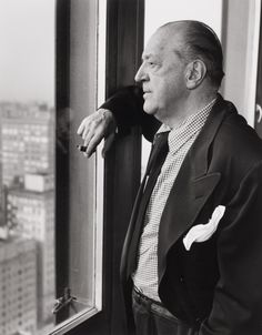 Mies van der Rohe, 1948 by Ferenc Berko.