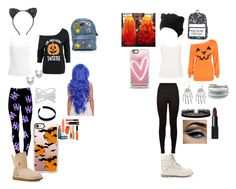 Halloween with best friend by cece-griffin on Polyvore featuring polyvore, fashion, style, Sans Souci, Ted Baker, Dolce&Gabbana, UGG Australia, Timberland, Azalea, David Yurman, Effy Jewelry, Casetify, Cara, NARS Cosmetics and clothing