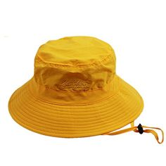 Home Prefer Unisex Mens Womens Lightweight Breathable Daily Summer Boonie Hat Sun Protection Bucket Hat Outdoor Fishing Hat, Yellow - http://todays-shopping.xyz/2016/06/06/home-prefer-unisex-mens-womens-lightweight-breathable-daily-summer-boonie-hat-sun-protection-bucket-hat-outdoor-fishing-hat-yellow/