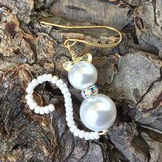 Bead Jewellery, Wire Jewelry, Jewelry Crafts, Beaded Jewelry, Jewelery, Jewelry Bracelets, Motifs Perler, Homemade Jewelry, Jewelry Patterns