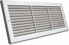 "Shoemaker 1100-20X6 20""x6"" Fixed Blade Baseboard Return Air Grille - White by Shoemaker. $30.66. The Shoemaker 1100 Series Fixed Blade Baseboard Return Air Grille offers 45-degree fixed blades and countersunk mounting holes for a smooth appearance.. Save 48% Off!"