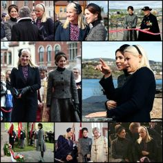 Crown Princess Mette-Marit of Norway and Crown Princess Mary of Denmark attended today the 150th anniversary of the Danish fallen in the Battle of Heligoland in 1864