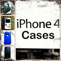 All The iPhone Cases - Clear, GameBoy, OtterBox, LifeProof-  #TeamiPhone #iPhone4 #iPhoneCases #iPhone4Cases #Cases #iPhone #GameboyCase #LifeProof #LifeProofCade #OtterBoxCase #iPhoneOtterBoxCase #OtterBox #CleariPhone #CleariPhoneCase #iPhoneFan #Apple #AppleiPhone #AppleProducts When you are in the market for an Otterbox iPhone 4 case, check out http://www.buycheapappleiphones.com/otterbox-iphone-4-case/  Large selection of defender and commuter cases.  Even some cases are available.