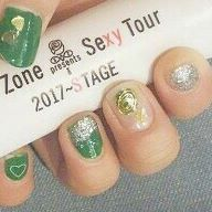 #selfnail#nail #green#heart#rose#silver #concert#SexyZone#SexyZonenail#松島聡#Instanail#l4l#like4like  #f4f#tagsforlikes#Frenchnail#参戦ネイル#セルフネイル部#セルフネイル#いいね返し#5STAGE#STAGE