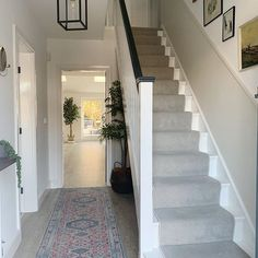 Renovation tour - a stunning extension carried out from overseas — Love Renovate Entrance Hall Decor, Hallway Ideas Entrance Narrow, House Entrance, Modern Hallway, 1930s Hallway, Victorian Hallway, Dark Hallway, Long Hallway, Victorian House
