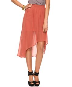 Essential High-Low Skirt