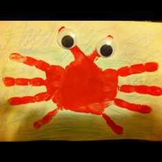 A thank you card from Milanya to her dad, for helping with the school crab feed.