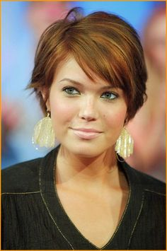 Easy Short Hair For Round Face 2016 Image Of Hairstyles With