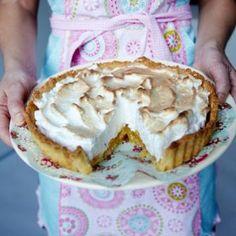 Oppskrift på Sitronpai (lemon pie)