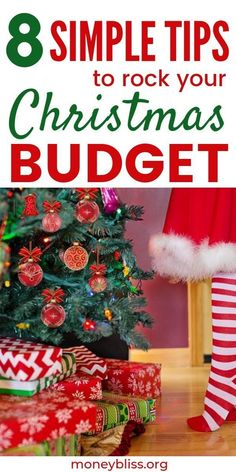 8 Simple Tips to Rock Your Christmas Budget – Finance tips, saving money, budgeting planner Christmas Savings Plan, Christmas On A Budget, Christmas Holidays, Christmas Decorations, Best Mom Christmas Gifts, Christmas Shopping, Minimal Christmas, Xmas Crafts, Holiday Festival