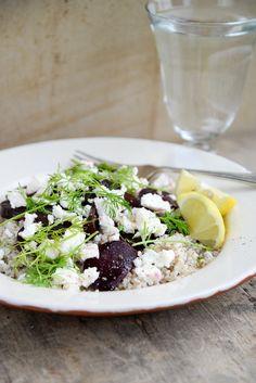 Vegetarian favourites: Buckwheat, beetroot and feta salad | Jamie Oliver | Features