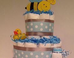 Gâteau de couches gâteau de couches bébé par craftylibrarianmama